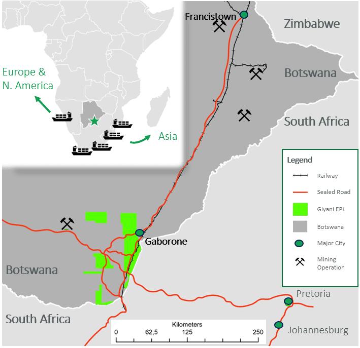 giyani zimbabwe project location map