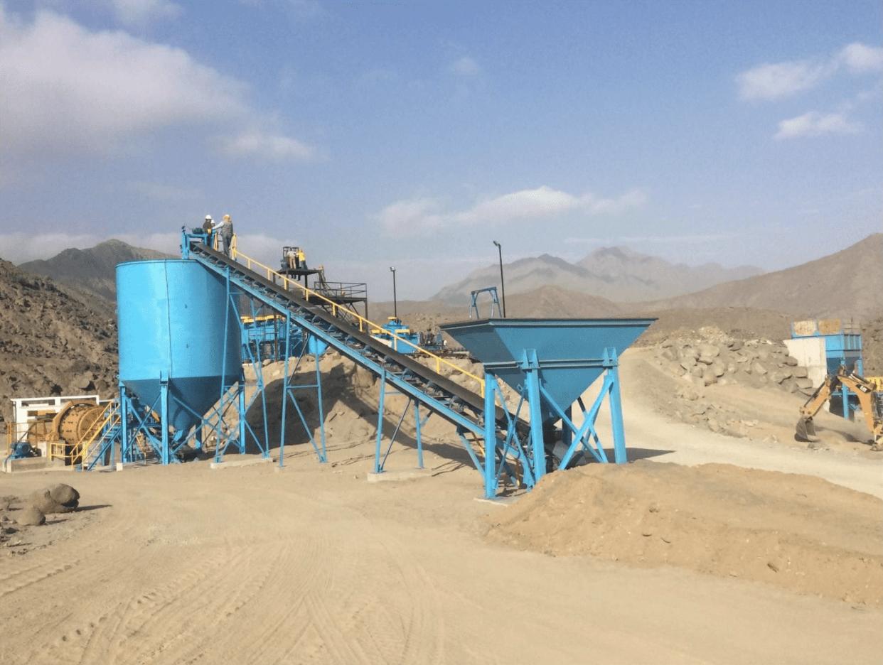 Peruvian Metals Plant