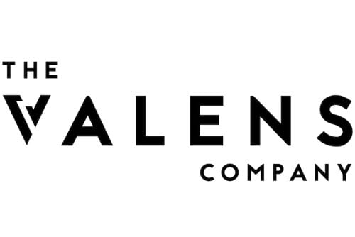 the valens company logo