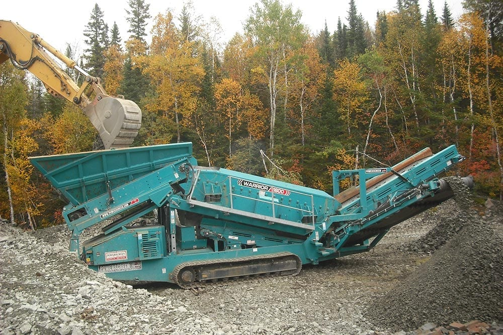 canada cobalt works mine sluicer