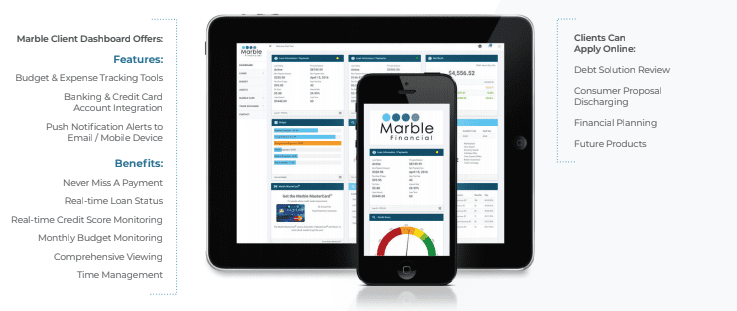 marble lending online platform