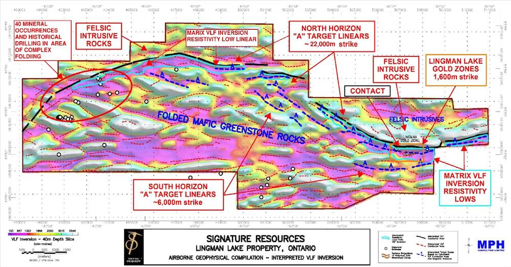 signature resources lingman lake property