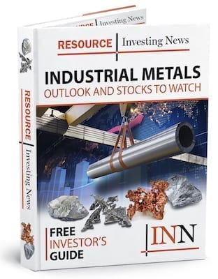 Industrial Metals Free Report Cover