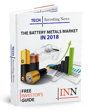 The Battery Metals Market in 2018