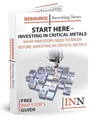 critical metals stock outlook report