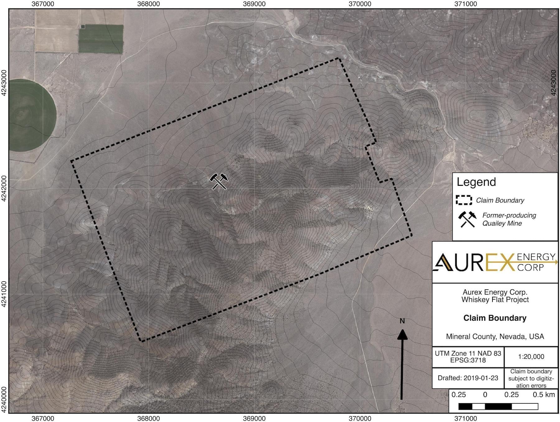 aurex energy claim boundary