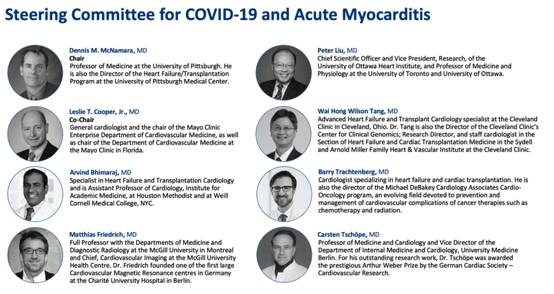 Cardiol Steering Commuttee for covid19