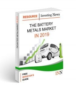 The Battery Metals Market in 2019