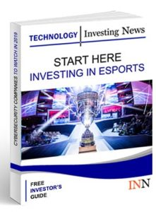Esports Outlook Start Report Cover
