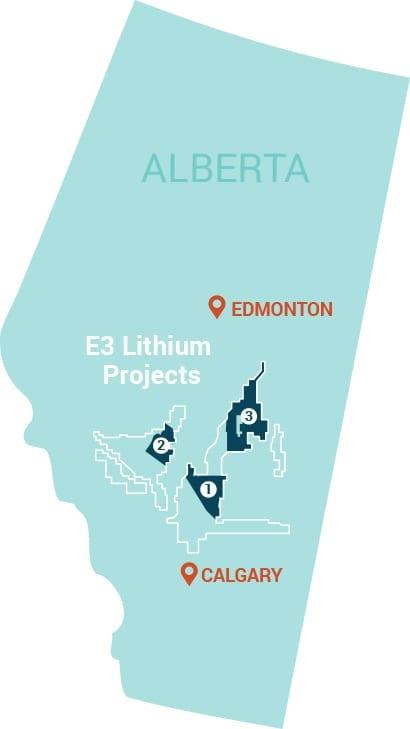 e3 metals alberta lithium project