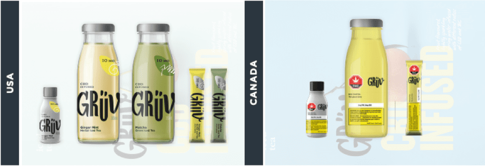 BevCanna Gruv products