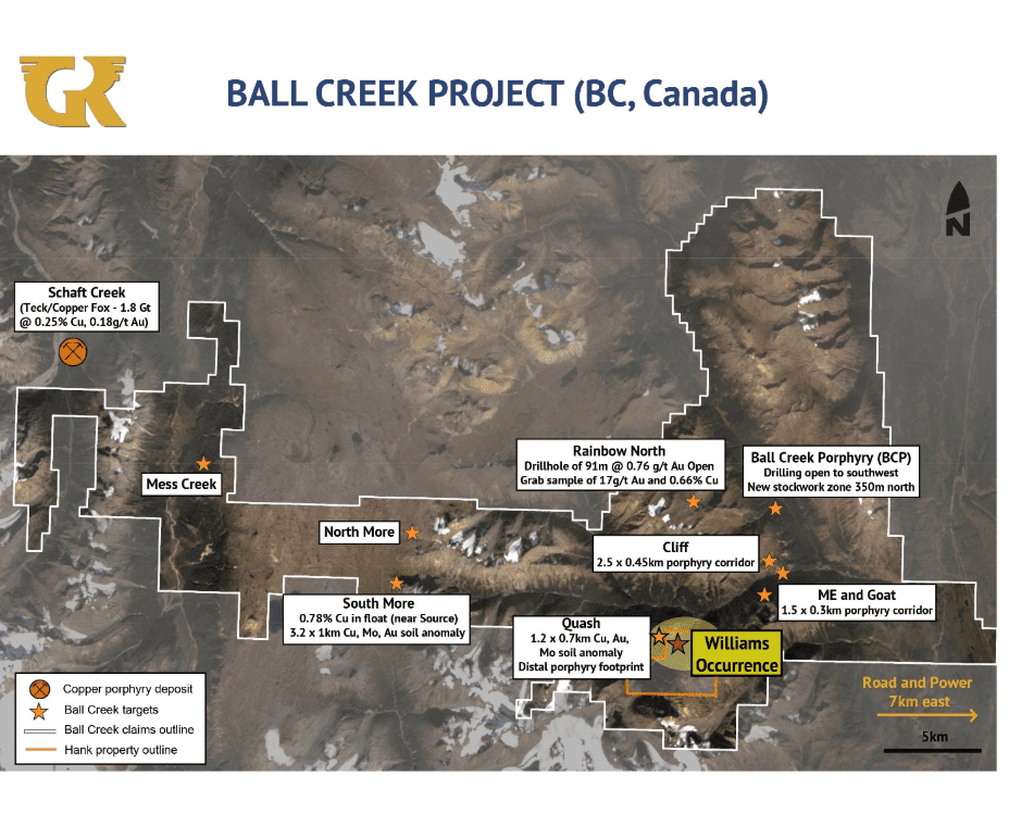 Golden Ridge Resources Ball Creek Project