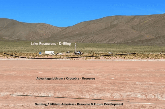 lake resources more drilling