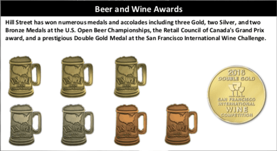 hill street awards graphic