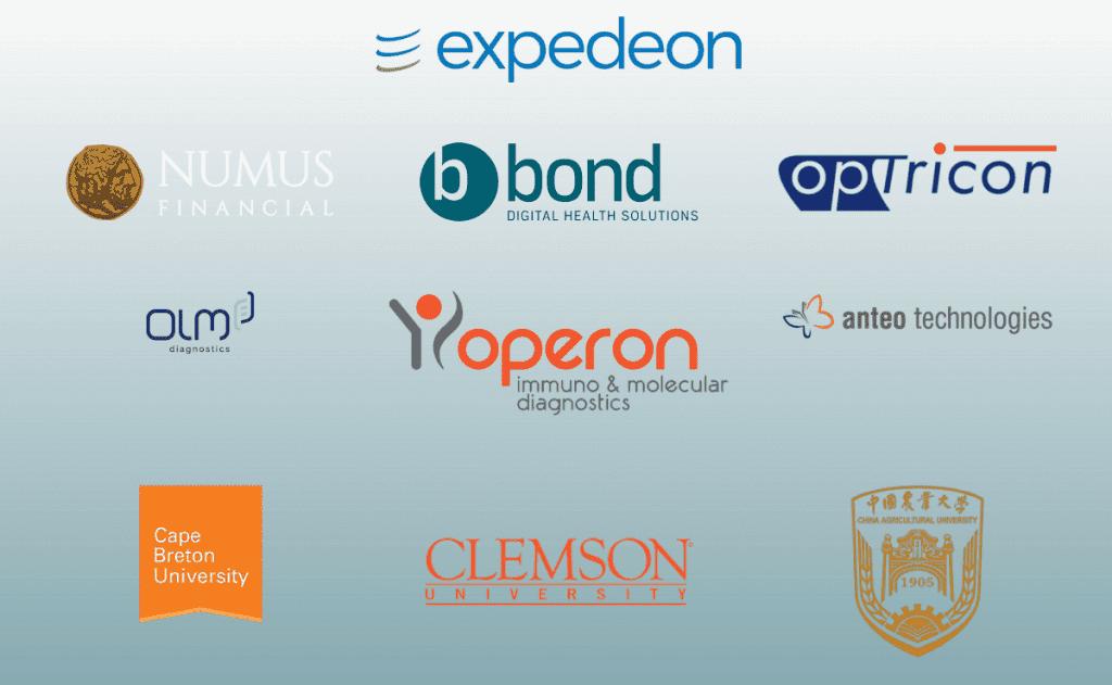 Sona Nanotech Partner Logos
