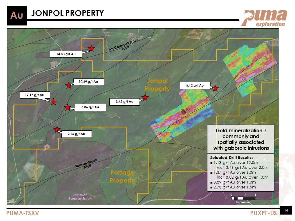 puma exploration jonpol property map