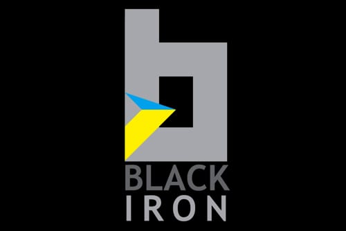black iron logo