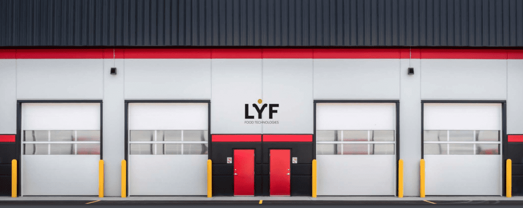 lyf food technologies facility doors