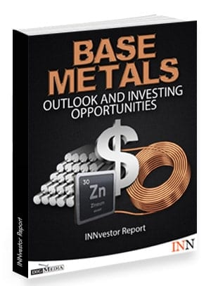 Base Metals Prices 2019 and Investing Opportunities Report Cover