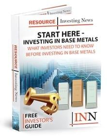 Start here Base Metals Investing Report Cover
