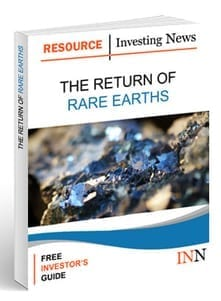 Rare Earth Outlook Cover