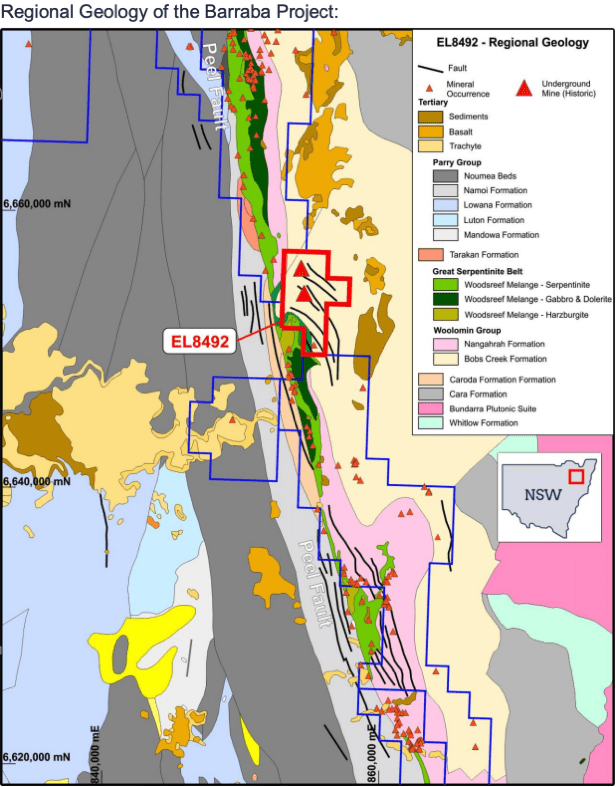 Regional Geology of the Barraba Project