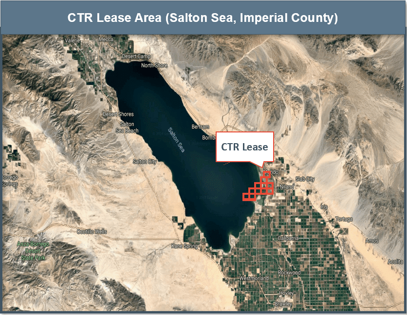 controlled thermal resources Project Location