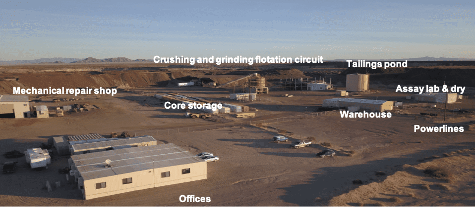 kerr copperstone project facilities
