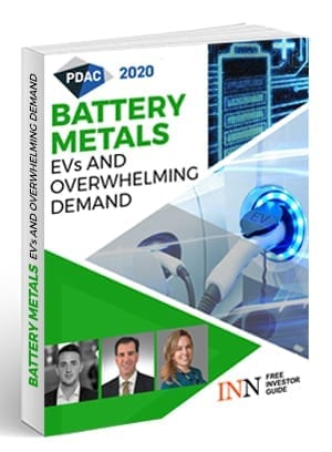 PDAC 2020 Battery Metals Free Report Cover