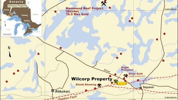 Bold Ventures Wilcorp Property Map