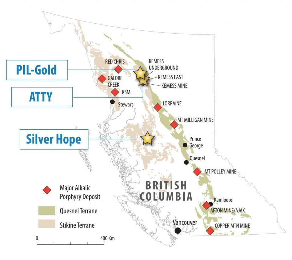 Finlay Minerals Projects
