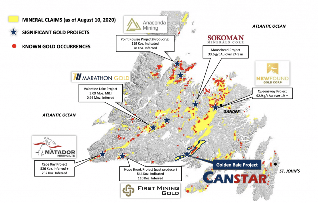 canstar map