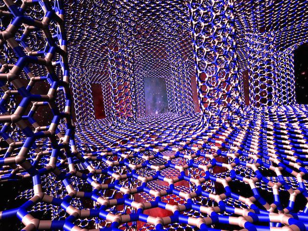 3D boron nitride white graphene