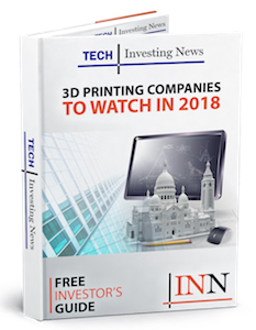 3D printing market stocks report