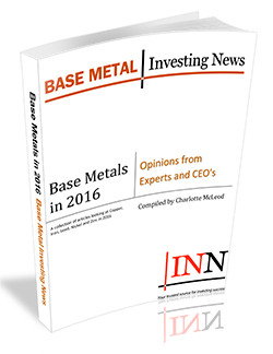 Base Metals in 2017: Opinions from Experts and CEO's