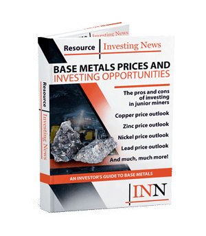 Base Metal Prices And Investing Opportunities