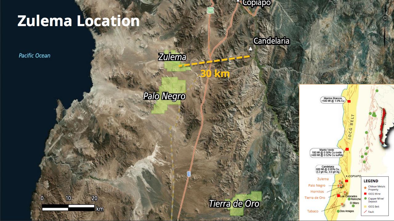 chilean - zulema location