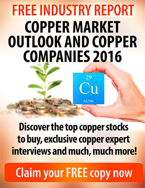 Copper investing free report and research