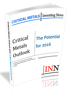 Critical Metals Outlook: The Potential for 2017