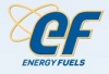 Energy Fuels Announces Management Change