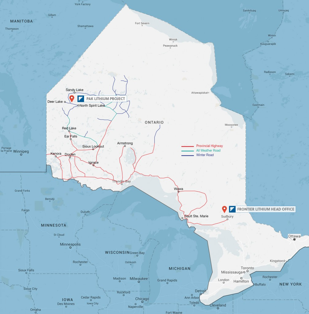 Frontier Lithium - Developing a World-class Lithium Deposit for Expanding Markets