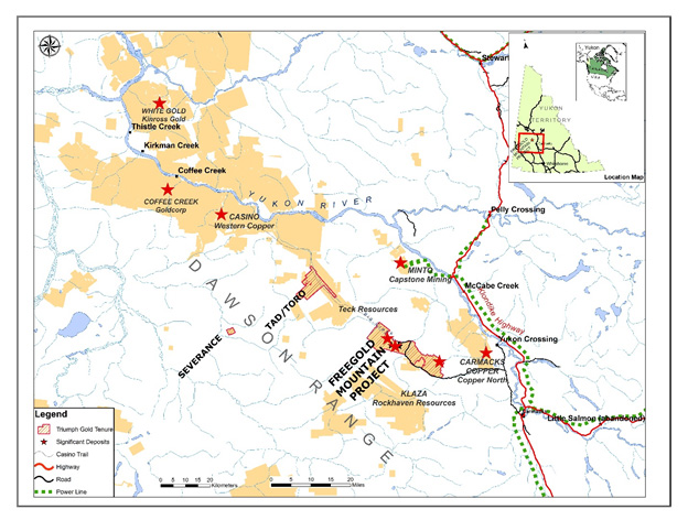 Triumph Gold - District-scale Gold Exploration in Yukon