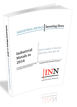 Industrial Metals in 2016: Oversupply in Several Markets, but Not All