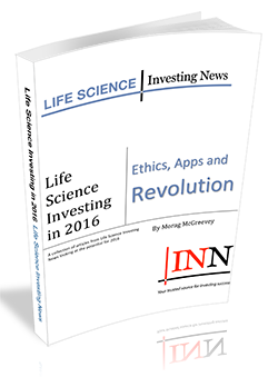 Life Science Investing in 2016: Ethics, Apps and Revolution