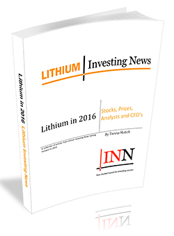 Lithium in 2017: Stocks, Prices, Analysts and CEO's