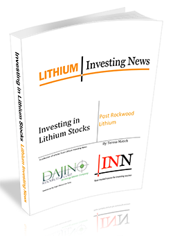 Investing in Lithium Stocks Post Rockwood Lithium