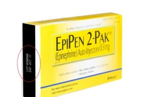 Mylan Expands its EpiPen Recall