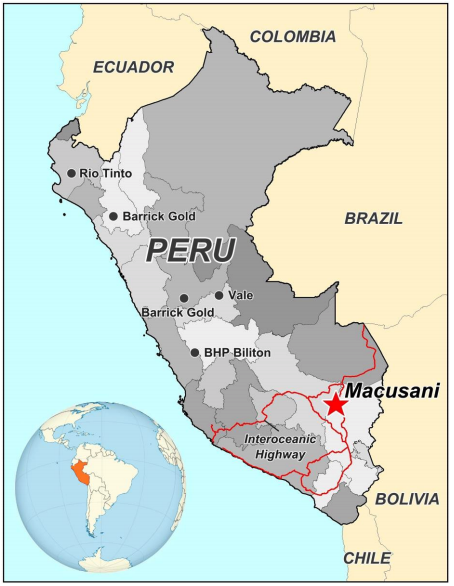 Peru and Macusani District: Long History of Mining and Exploration