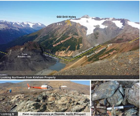 Metallis Resources Thunder North)