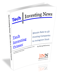 Tech Investing Primer – Bitcoin Rate to 3D Printing Companies to Instagram Stock